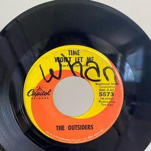 Vintage Accents - THE OUTSIDERS 45 VINYL